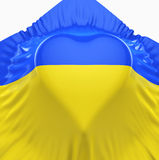 Flag of Ukraine Royalty Free Stock Image