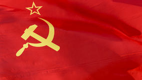 Flag Union of Soviet Socialist Republics (USSR) Royalty Free Stock Photos