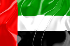 Flag of United Arab Emirates Royalty Free Stock Image