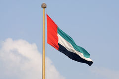 Flag of the United Arab Emirates Royalty Free Stock Photo