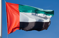 Flag of United Arab Emirates Stock Image