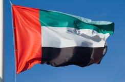 Flag of United Arab Emirates Stock Image