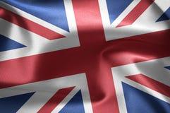 Flag of the United Kingdom Stock Photography