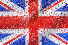 Flag of the United Kingdom Royalty Free Stock Photo