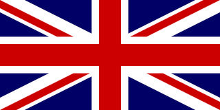 Flag of United Kingdom Stock Images