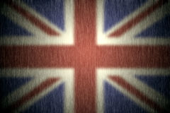 Flag of the United Kingdom Stock Photography