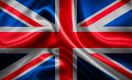 Flag of United Kingdom Stock Photo