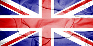 Flag of United Kingdom. Royalty Free Stock Photo