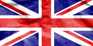 Flag of United Kingdom. Stock Photo