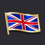 Flag of United Kingdom royalty free illustration