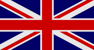 Flag of United Kingdom of Great Britain and Northern Ireland. UK flag aka Union Jack. Vector illustration Royalty Free Stock Photography