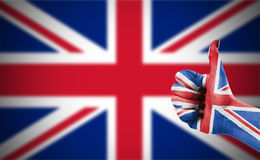 Flag of United Kingdom Stock Photos