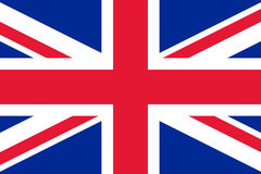 Flag of United Kingdom Royalty Free Stock Image