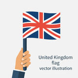 Flag United Kingdom Royalty Free Stock Image