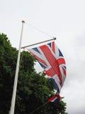 Flag of the United Kingdom (UK) aka Union Jack. National flag of the United Kingdom (UK) aka Union Jack Royalty Free Stock Photography