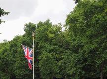 Flag of the United Kingdom (UK) aka Union Jack. National flag of the United Kingdom (UK) aka Union Jack Royalty Free Stock Photo