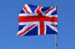 The Flag of the United Kingdom - Union Jack Royalty Free Stock Images