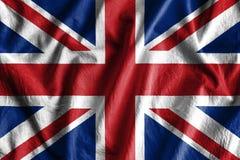 Flag of United Kingdom stock photos
