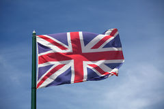 The flag of United Kingdom Stock Images
