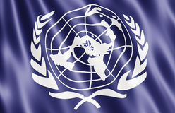 Flag Of The United Nations Stock Photography
