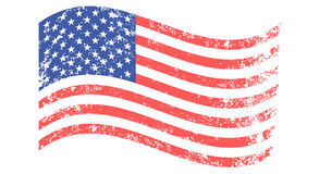 Flag of United States Royalty Free Stock Photos