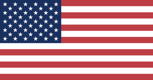 Flag of United States Royalty Free Stock Image