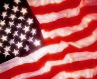 Flag of the United States of America. The flag of the United States of America Stock Images
