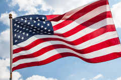 Flag of the United States Royalty Free Stock Photos