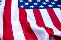 Flag of the United States of America stock image