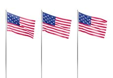 Flag of the United States of America. 3D rendering Stock Photo
