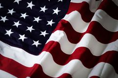 Flag of the United States of America.  stock images