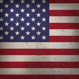 Grunge Flag of United States of America Royalty Free Stock Photos