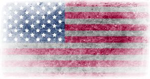 Flag of United States of America illustration stock illustration