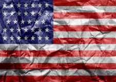 Flag of the united states of america Royalty Free Stock Image