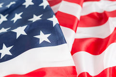 Flag united states Royalty Free Stock Photos