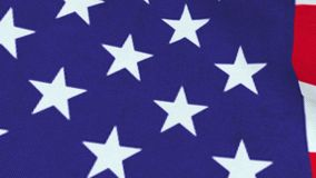 Flag of United States, 3D animation stock video footage