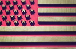 Flag united states, in red royalty free stock images