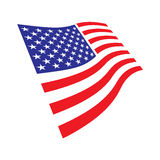 Flag of the United States Royalty Free Stock Photo