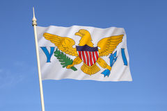 Flag of the United States Virgin Islands Royalty Free Stock Image