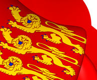Flag of Upper Normandy, France. Royalty Free Stock Images