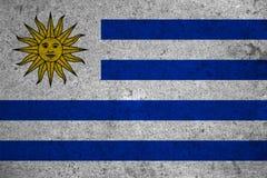 Flag Uruguay Royalty Free Stock Photo