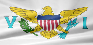 Flag of US Virgin Islands Stock Images