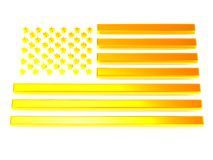 Flag of USA Stock Photo