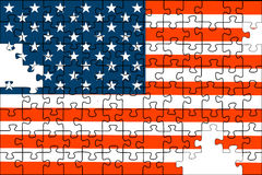Flag of the USA Stock Images