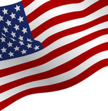 Flag of the USA. Stock Photography