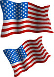 Flag of the USA. Royalty Free Stock Photo