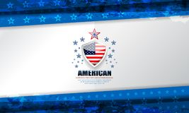 USA Background for independence day Royalty Free Stock Photos