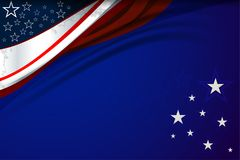 USA Background for independence day Royalty Free Stock Images