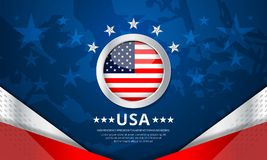 USA Background for independence day Royalty Free Stock Photography