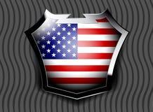 Flag of USA Stock Image
